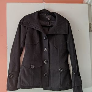 Women Size 6 • HM BLACK PEACOAT